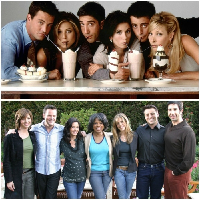 The Casts Of Your Favorite TV Shows And Movies Back In The Day And Today (25 pics)