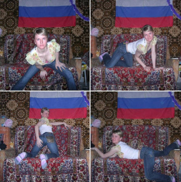 Russians Don't Exactly Take The Sexiest Glamour Shots (19 pics)