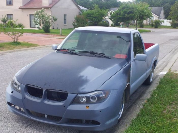 How To Make Your Wife Happy When She Says She Wants A BMW (2 pics)