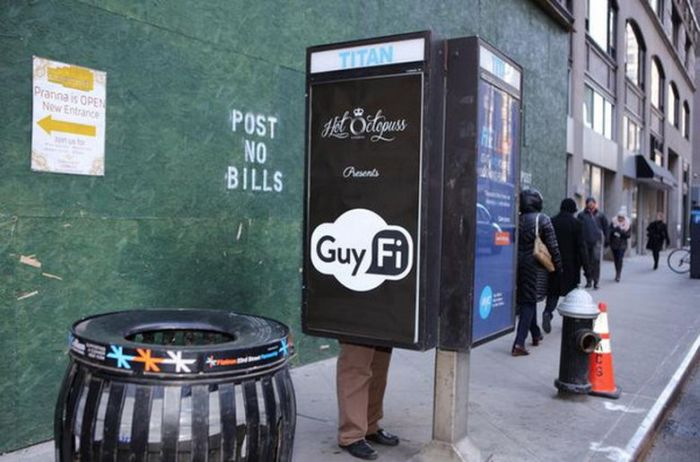New York City Now Has A Masturbation Booth For Men (3 pics)