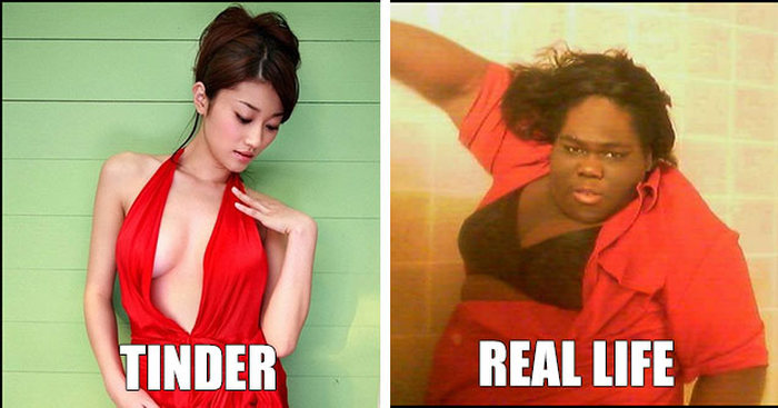 What People Look Like On Tinder Compared To Real Life (10 pics)