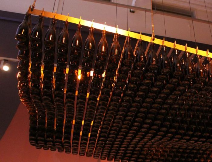 Would You Sit Underneath All Of These Beer Bottles? (4 pics)