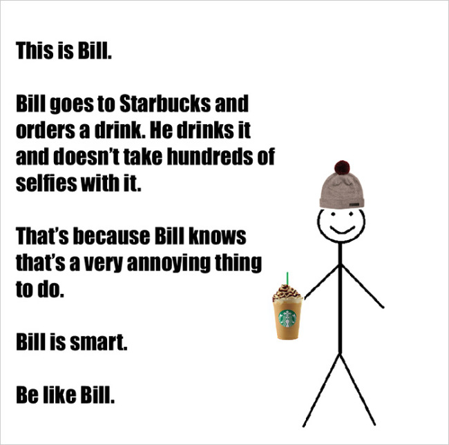 Everybody On Facebook Could Learn A Thing Or Two From Bill (16 pics)