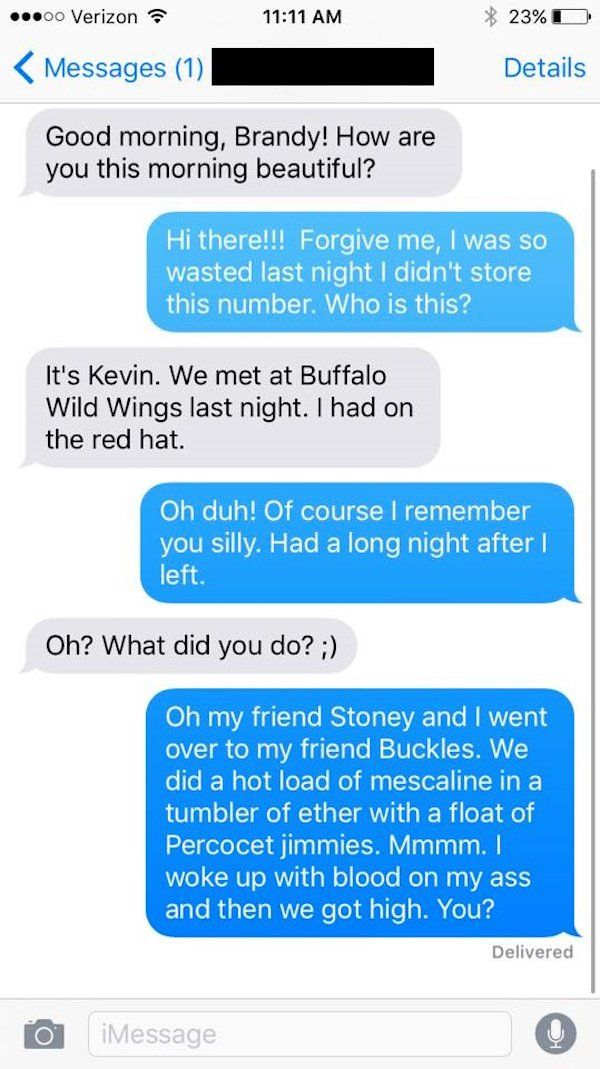 A Girl Keeps Giving Out A Fake Number And It Belongs To This Guy (7 pics)