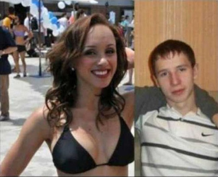 Guys Who Mysteriously Got Really Hot Girlfriends (39 pics)