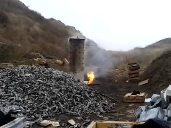 Destroying Of 2000 Bullets