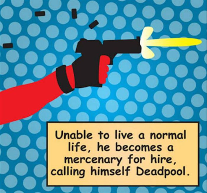 Important Things You Need To Know About Deadpool Before You See His Movie (16 pics)