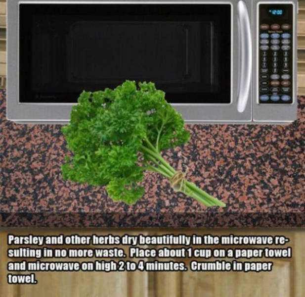 Awesome Microwave Hacks That You Need To Be Using (20 pics)