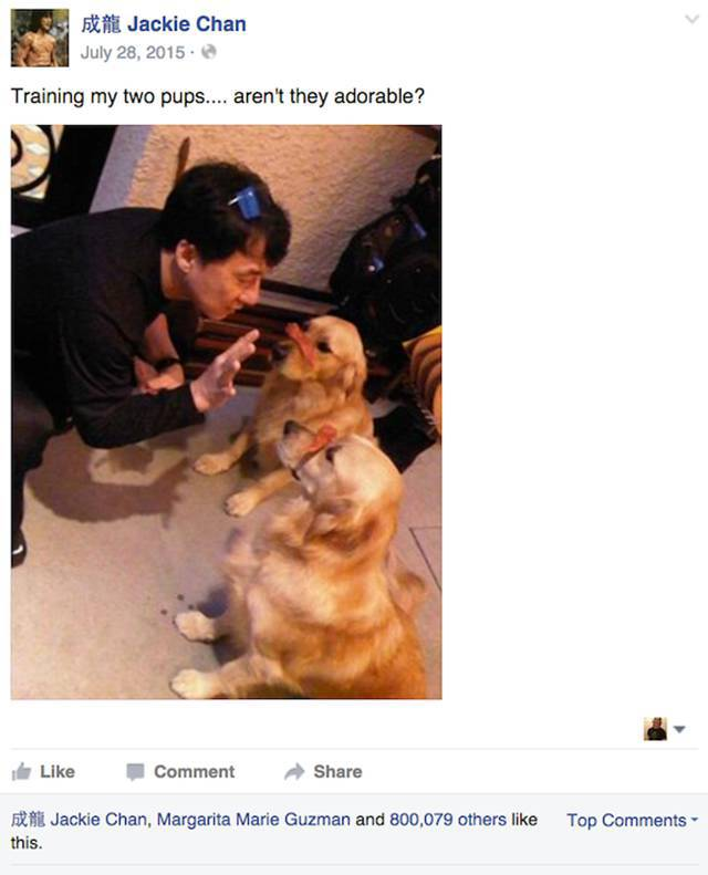 Jackie Chan Always Posts The Best Statuses On Facebook (24 pics)