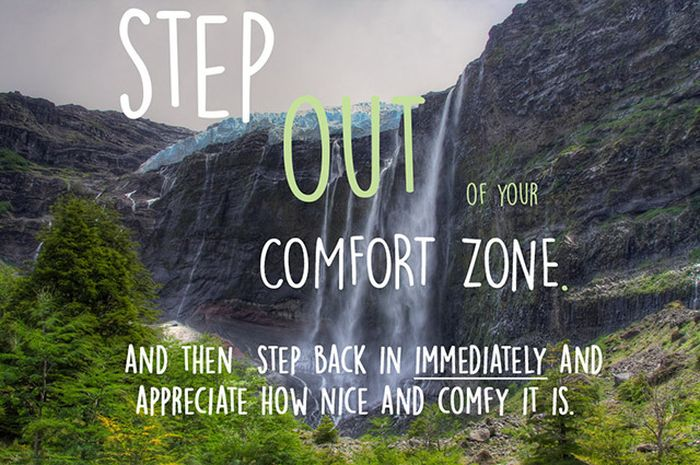 Motivational Posters For People Who Hate Leaving Their Comfort Zone (13 pics)