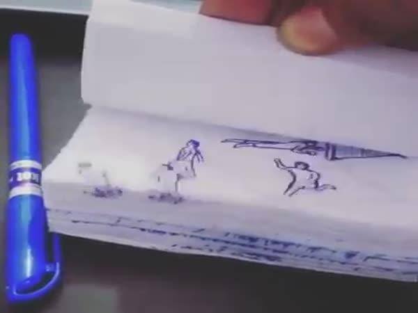 Messi Goal Animation