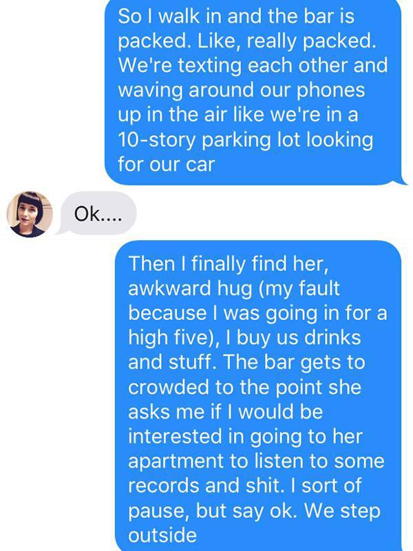Let This Story Be A Reminder That You Should Always Use Caution On Tinder (19 pics)
