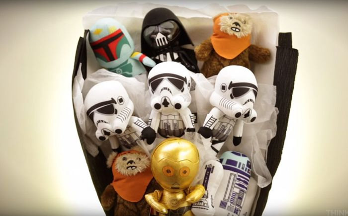 Ditch The Flowers And Get Your Date A Star Wars Bouquet For Valentine's Day (10 pics)
