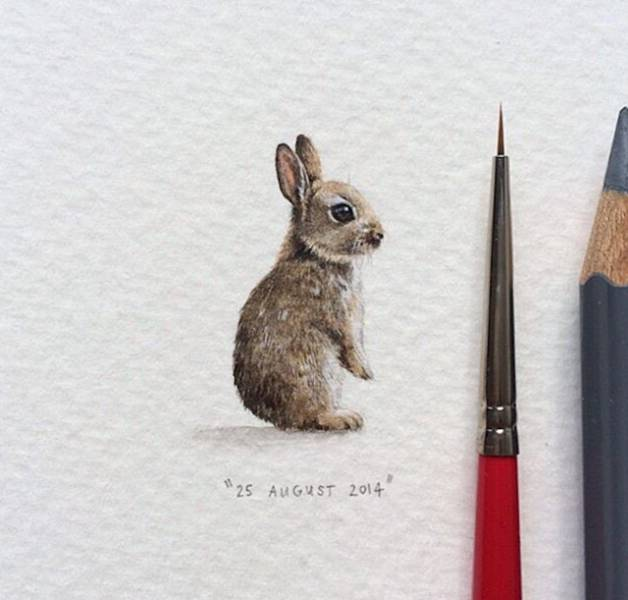 Tiny Drawings That Are Impressive And Adorable (33 pics)