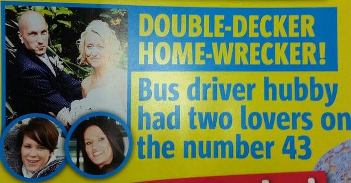 25 Bizarre But True Tabloid Magazine Headlines (25 pics)