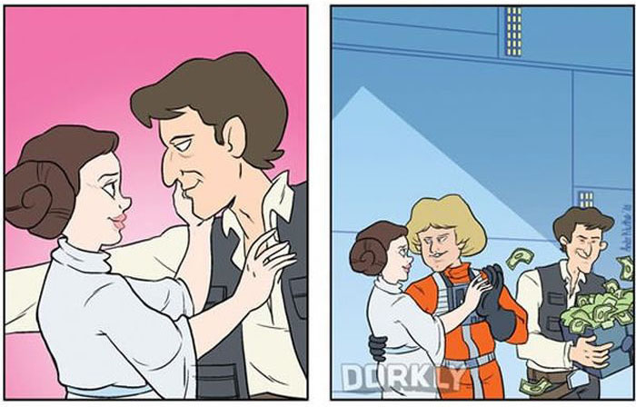 The Difference Between Remembering Star Wars And Rewatching It (7 pics)