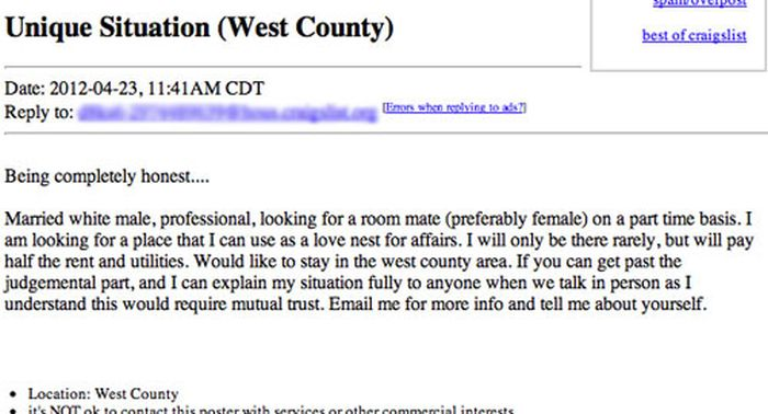 These Are The Worst Roommate Ads In The History Of Craigslist (13 pics)