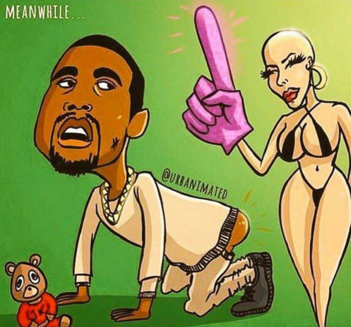 The Internet's Best Reactions To Amber Rose Calling Out Kanye West (28 pics)