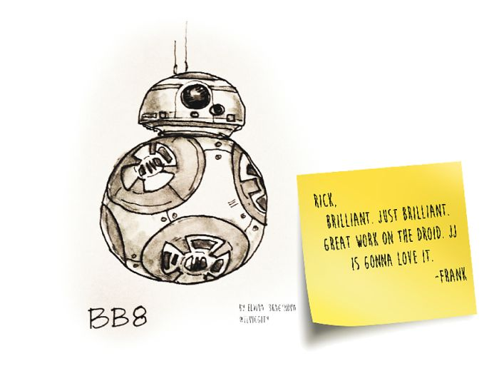The Inspiration Behind BB-8's Look Revealed (8 pics)