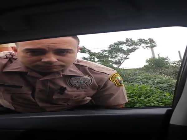 Crazy Woman Chases Down Miami Cop For Speeding