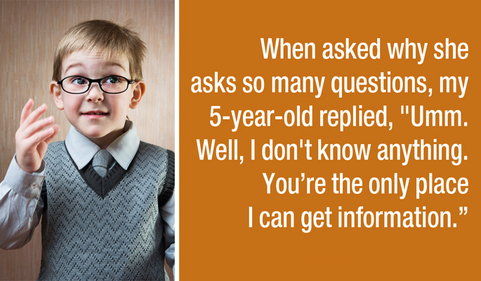 People Reveal The Funniest Things They've Ever Heard Kids Say (20 pics)
