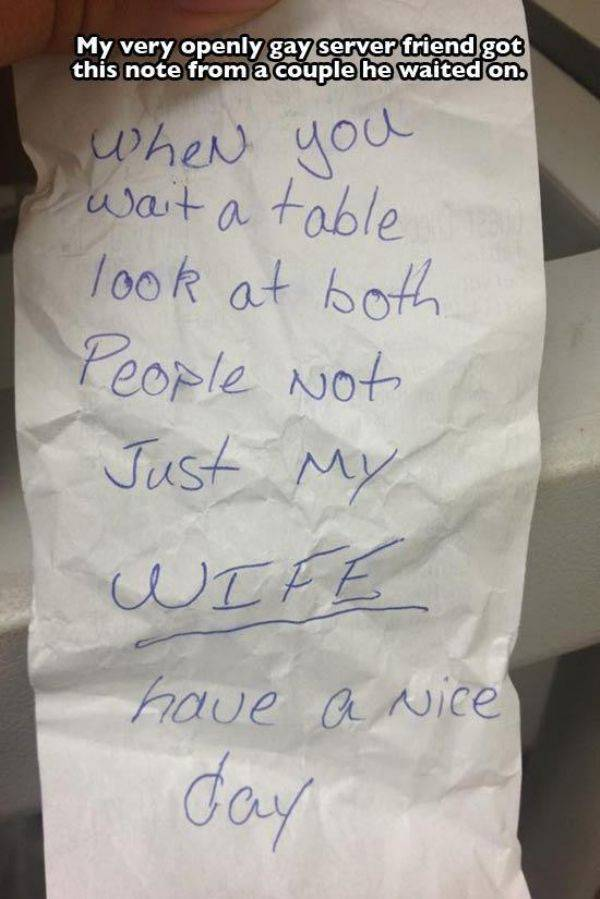 Awesome Notes That Were Passed From One Stranger To Another (20 pics)