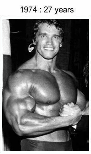 A Look At Just How Well Arnold Schwarzenegger Has Aged Over The Years (6 pics)