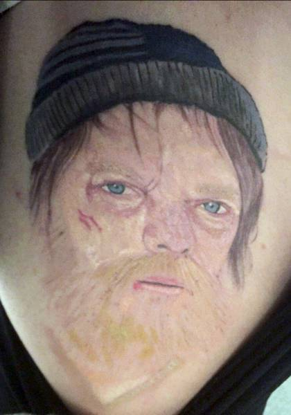 This Woman Got A Ridiculous Tattoo After Making A Drunken Bet (8 pics)