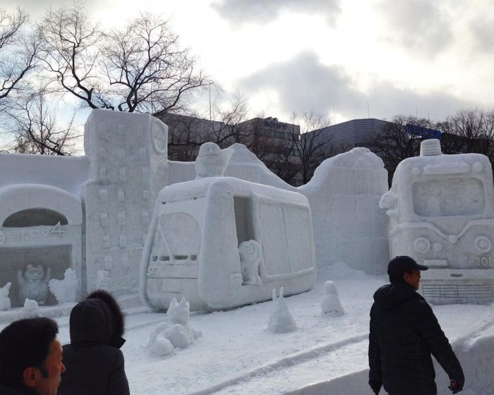The Sapporo Snow Festival Is Now Open To The Public (15 pics)