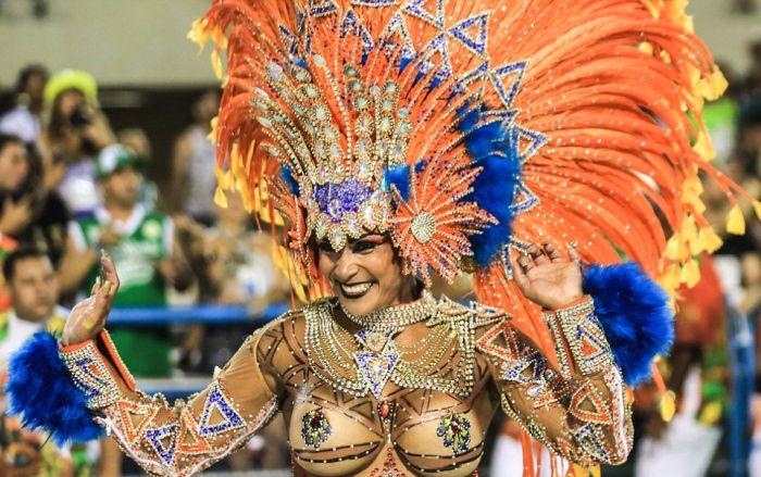 Womens Vacation; Brazil, Rio de Janeiro, Copacabana  |Brazilian Carnival Ladies