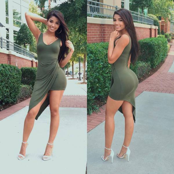 Sexy Women In Skin Tight Dresses That Will Stop You Dead In Your Tracks 57 Pics-9319
