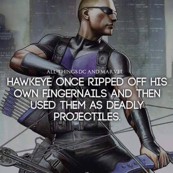 Fun Facts About Your Favorite Marvel And DC Characters (25 pics)