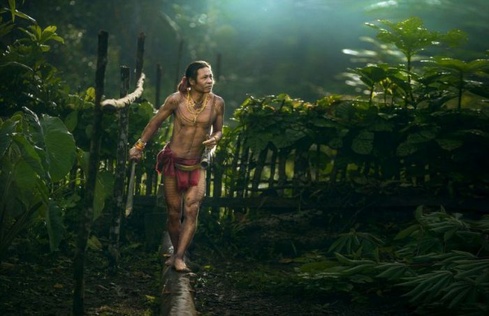 Photos Of The Mentawai Tribe In West Sumatra Show A Civilization Untouched (22 pics)