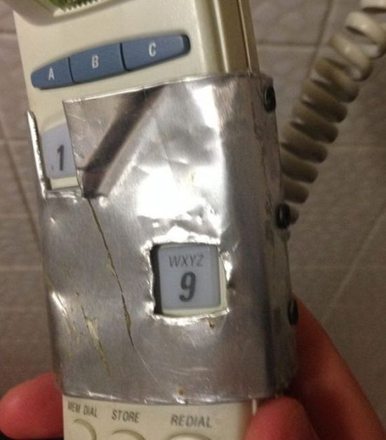 This Phone Can Literally Only Call 911 (2 pics)