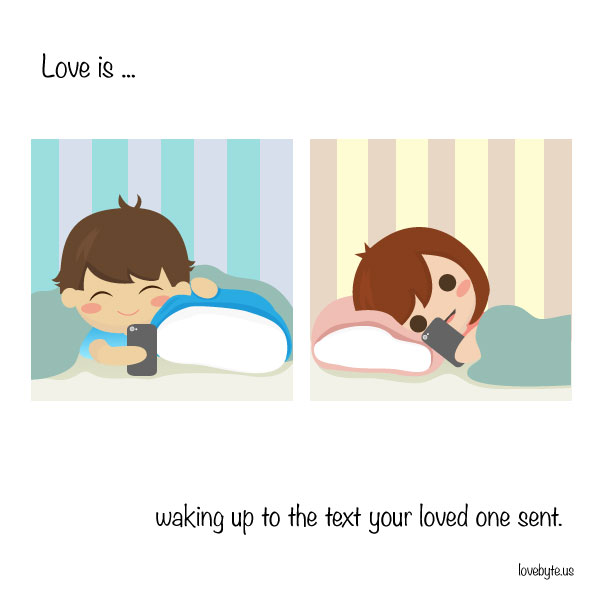 Cute Illustrations That Capture Exactly What Love Is (26 pics)