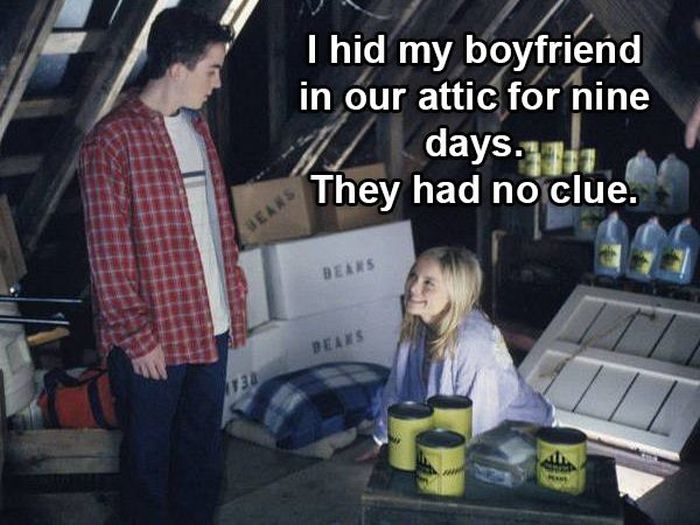 People Come Clean About Secrets They Kept From Their Parents (17 pics)