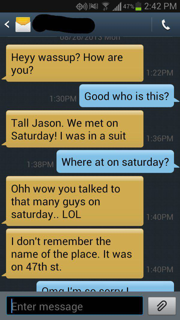 Guy Gets Trolled After A Marathon Texting Session (8 pics)