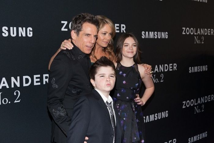 Ben Stiller's Son Busts Out Blue Steel At The Premiere Of Zoolander 2 (5 pics)