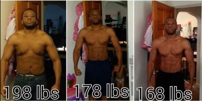 Man Makes Incredible Transformation After Losing 140 lbs (7 pics)