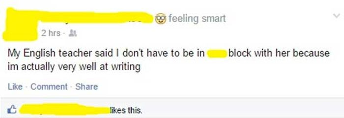 It's The Idiotic People That Make Facebook Worth Using (13 pics)