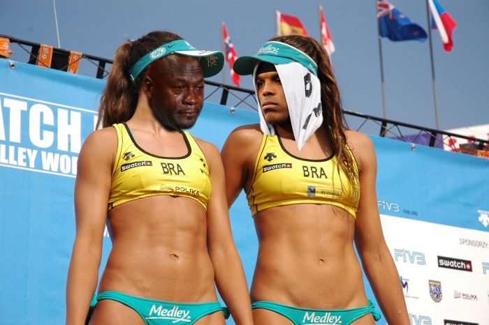 Sexy Brazilian Volleyball Players Get The Photoshop Battle Treatment (19 pics)