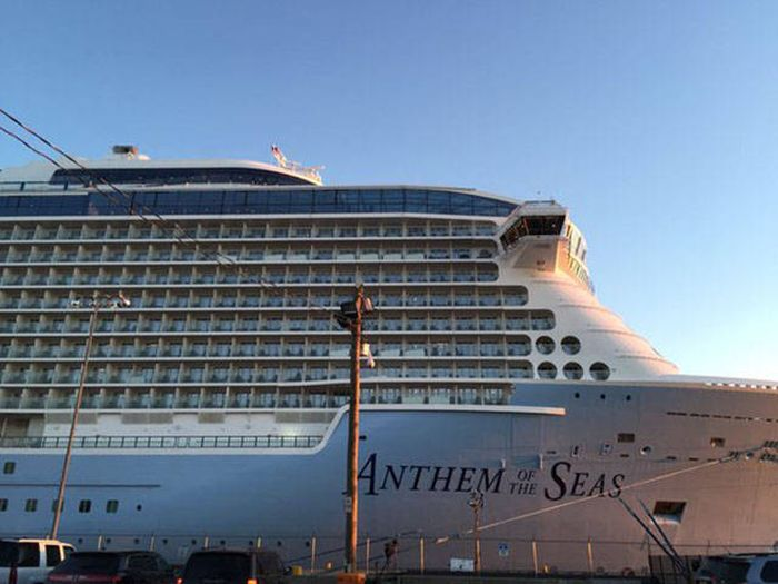 Royal Caribbean Cruise Ship Suffers Damage After Getting Caught In A Storm (20 pics)