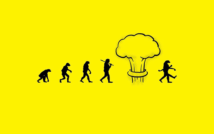Celebrate Evolution With These Satirical Darwin Day Illustrations (42 pics)