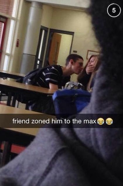 What It Looks Like When A Guy Gets Friendzoned To The Max (2 pics)