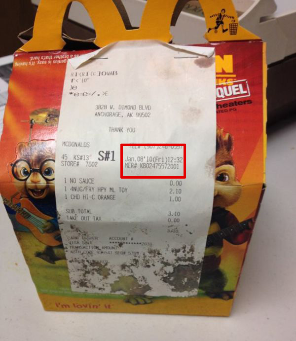 It's Been 6 Years And This McDonald's Happy Meal Still Looks The Same (2 pics)
