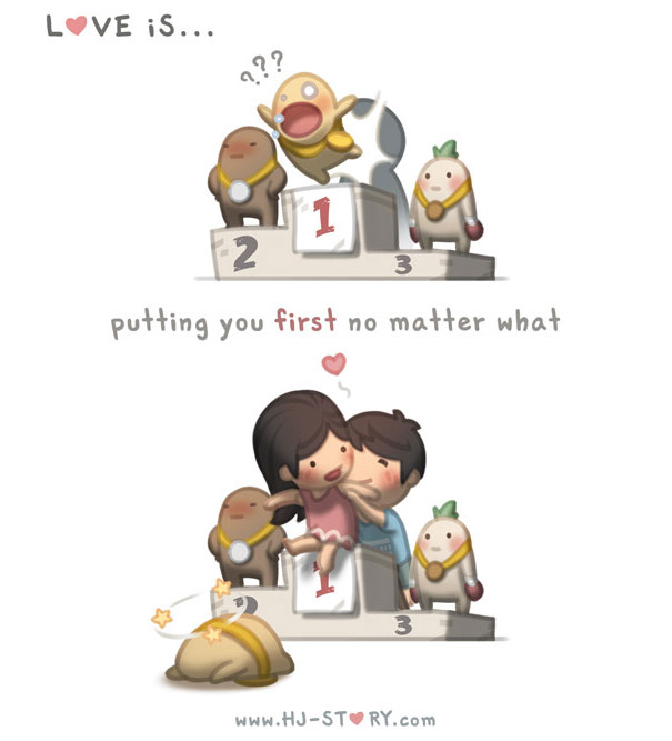 Husband Spends 5 Years Creating Adorable Illustrations For His Wife (50 pics)