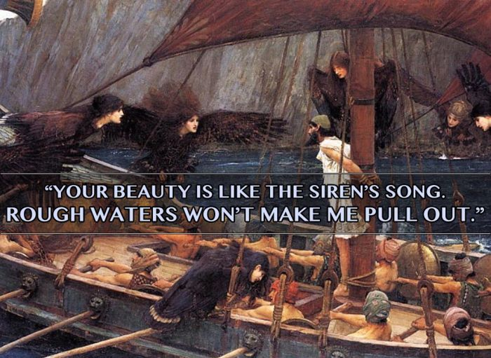 Mythological Pick Up Lines Of Epic Proportions (9 pics)