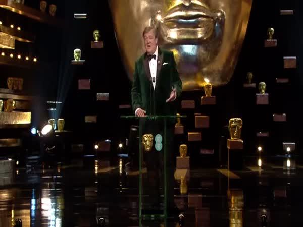 Leonardo DiCaprio And Dame Maggie Smith On Kiss Cam The British Academy Film Awards 2016 BBC One