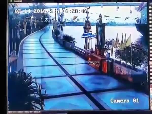 Thai Ship Crash You Shall Not Pass