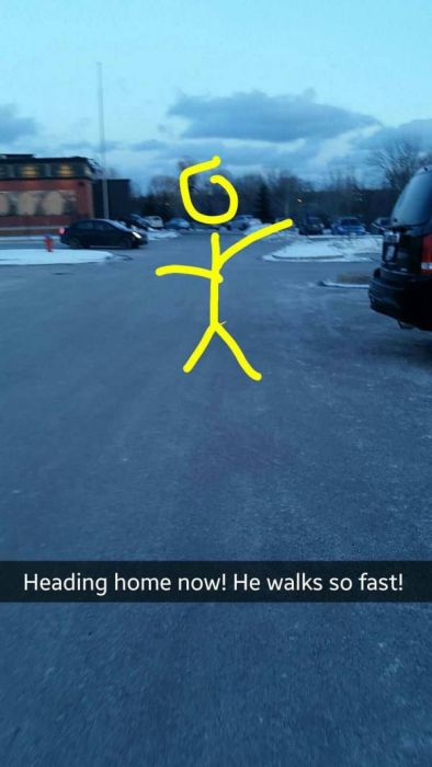 There Are Many Twists And Turns In This Girl's Fake Snapchat Date (22 pics)